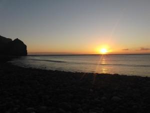 sun set @ san nicolas